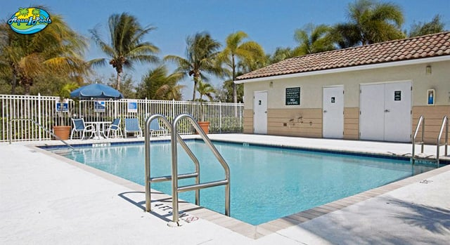 Homestead Studio Suites Pool Doral